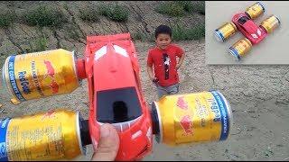 How To Make A Boat Car Driving On Water and Road / Đồ Chơi Xe Hơi Biết Bơi / Win - Bao Nguyen