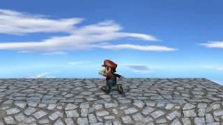 Super Mario 64 Fan Remake   VLog1   Blender Game Engine