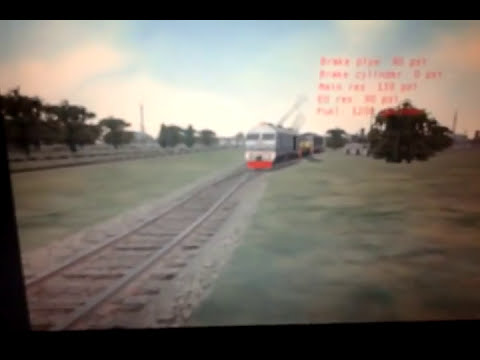 microsft train simulator KTMB 24class 24120 seri lanang with ekspress wau 17koc.....17nk
