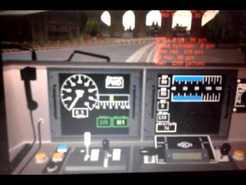 microsft train simulator KTMB 24class 24120 seri lanang with ekspress wau 17koc.....17nk