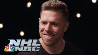 San Jose Sharks' Joe Pavelski plays 'Pick Your Poison' with Jeremy Roenick | NHL | NBC Sports