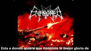 Enthroned - Wrapped in fire