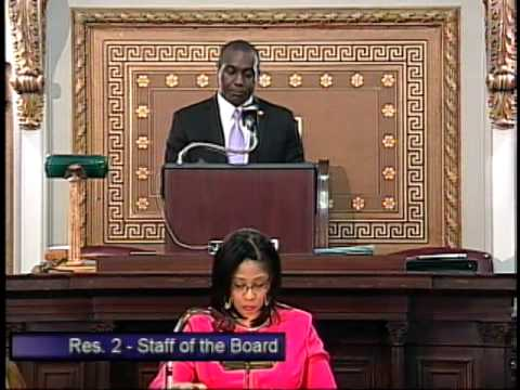 St Louis Board of Aldermen 04/15/2014 First Meeting 2014-2015 Session
