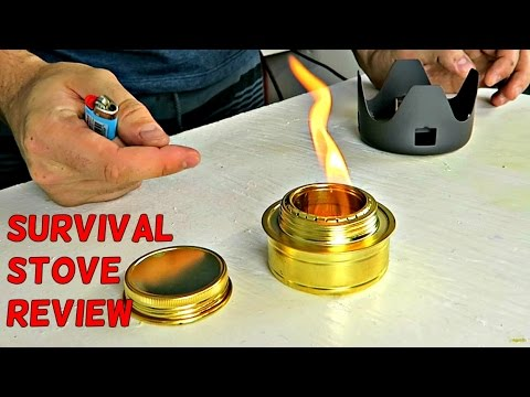 Awesome Alcohol Stove Review