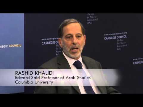 Rashid Khalidi: Ending the Libyan Civil War