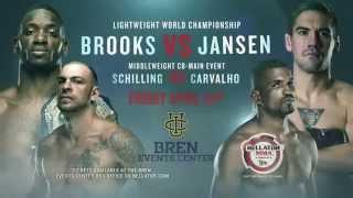 Bellator MMA: Brooks vs Jansen Matchup