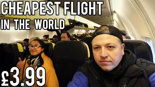 The CHEAPEST FLIGHT in THE WORLD! £3.99 ft. ClickForTaz