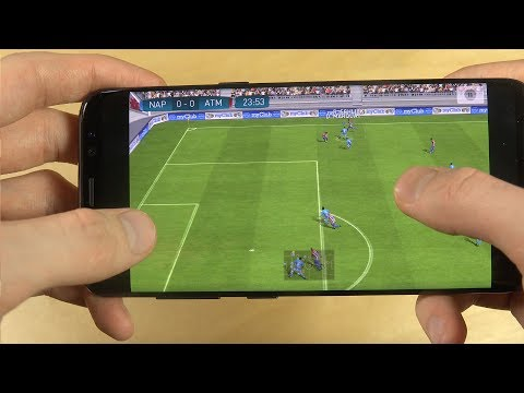 PES 2017 Pro Evolution Soccer Samsung Galaxy S8 Gameplay Review