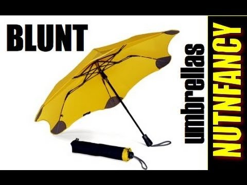 Blunt Umbrellas: You ll Want It to Rain