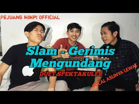 Virall!! Suara Merdu Bikin Merinding - Gerimis Megundang - Slam (cover Anak Rantau)