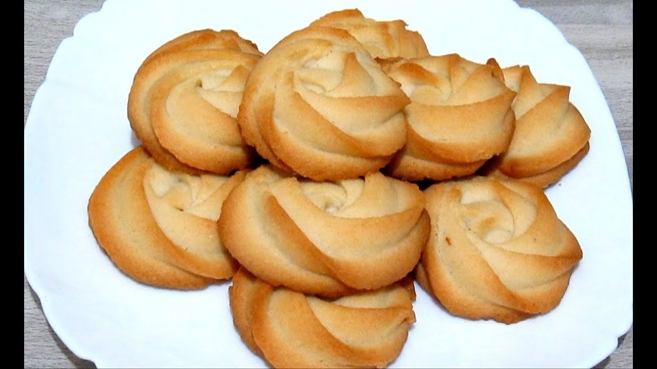 Как приготовить печенья в домашних условиях легко и быстро 756