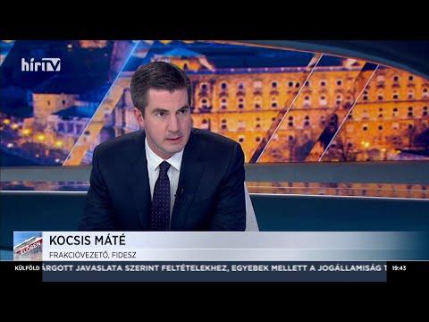 Magyarország élőben Kocsis Mátéval (2020-02-17) - HÍR TV