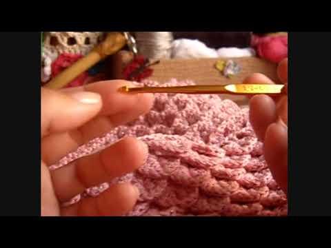 Crochê - Vestido (Ponto Escama) - 03/10