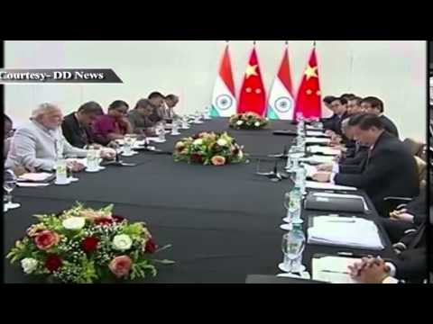PM meets Chinese President Xi Jinping in Fortaleza