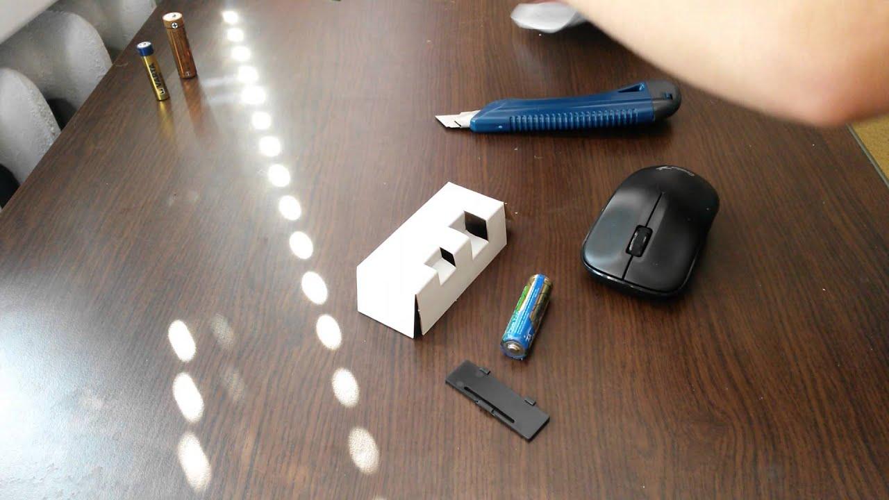 Как сделать проводную мышь беспроводной