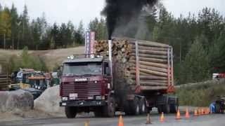 Mäkivetokisat 2015 Lappeenranta Scania 143 450