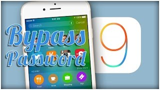 Bypass Password iOS 9 - Access Photos & Contacts [FR]