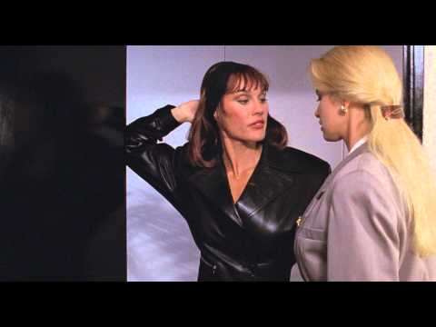 Cory Everson in leather