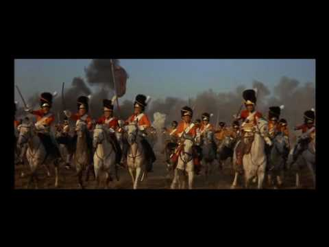 The Battle of Waterloo - Charge of the British Heavy Cavalry