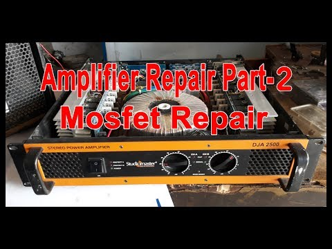 Studiomaster amplifier repair Part-2 (hindi) thumbnail