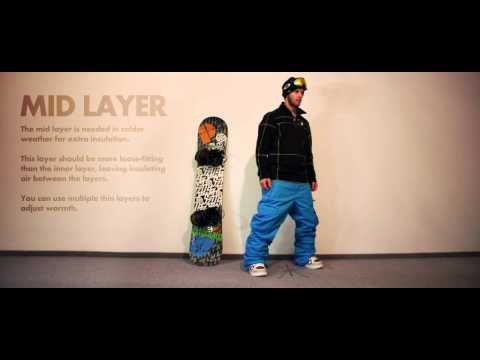 Learn How To Dress Right For Snowboarding | Guide To Getting Layered With Ruben Verges