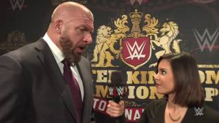 Triple H expounds on the WWE United Kingdom Championship Tournament: Exclusive, Jan. 13, 2017