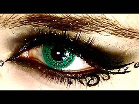 Glam Goth Makeup