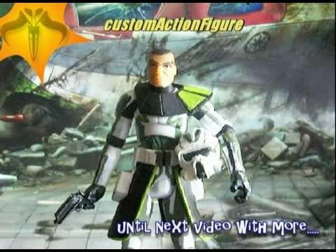 arf commander trauma custom clone trooper youtube