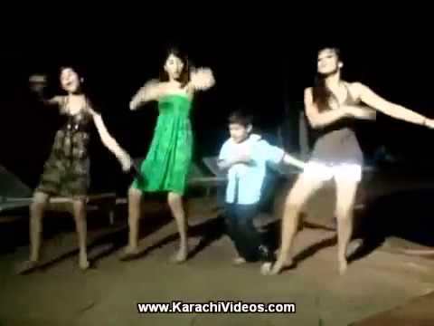 Pakistani Girls Are Dancing At Beach video