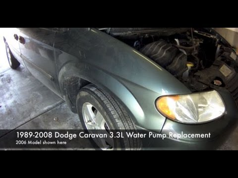 How to Replace the Water Pump in a Dodge Caravan