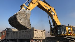 Cat 6015B Excavator The First Loads - Sotiriadis Brothers