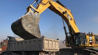 Cat 6015B Excavator The First Loads - Sotiriadis Brothers