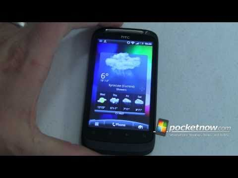 Video: HTC Desire S First Boot