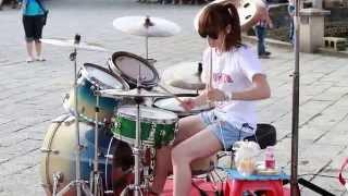 download lagu Amazing Girl Drummer Does BIGBANG - Fantastic Baby Street gratis