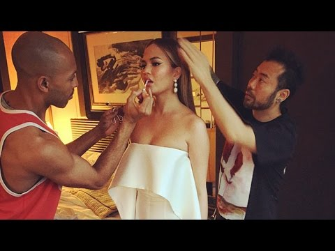 Chrissy Teigen Suffers a Wardrobe Malfunction of 'the Highest Caliber' at the 2015 CFDA Fashion A…