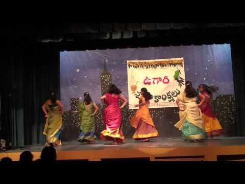 Telugu Ammayilu Dance - Ugadi 2011 - Rochester MN