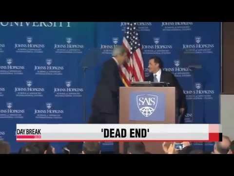 U.S. Secretary of State John Kerry warns N. Korea of ′dead end′   케리