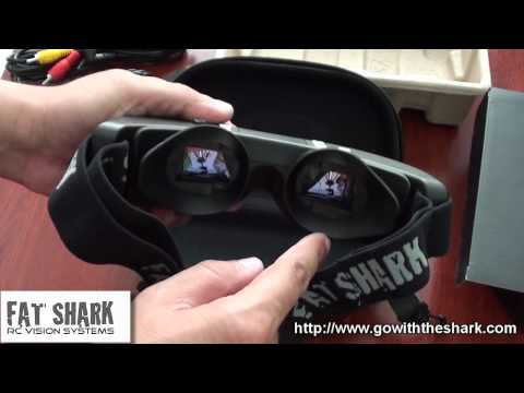 FatShark Dominator video goggles for FPV