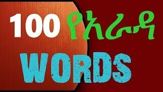 Download 100 Ye Arada Words የአራዳ ቋንቋዎች New 3Gp Mp4