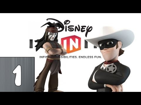 Disney Infinity: The Lone Ranger - Part 1 (Lets Play, Gameplay, Commentary)