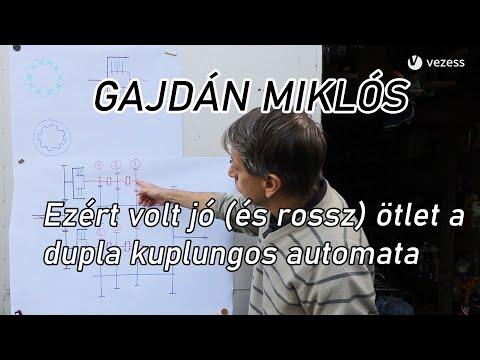 Gajdán Miklós a trükkös dupla kuplungos váltókról mesél - 1. rész
