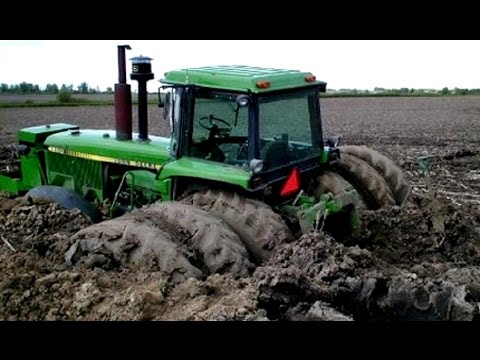 Tractors Stuck in Mud | Tractor Engine Sound Compilation