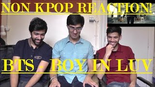NON KPOP FANS REACT  BTS - BOY IN LUV 상남자  SIMPLY THE BEST