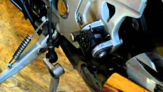 Cycle Pirates 360 degree foot peg mount installation - 95 ZX11 - Part 1