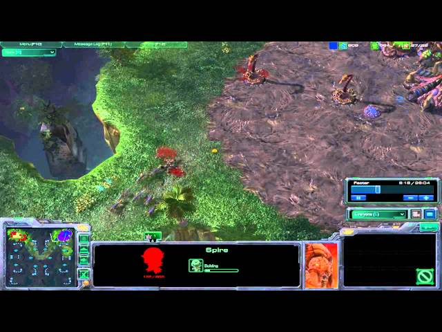 BEST SC2 ZERG STRATEGY 1V1 Finals Commentary (2/5)