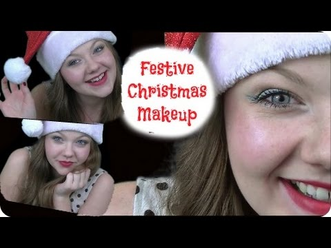 The Most Festive Christmas Makeup Tutorial 🎄🎁