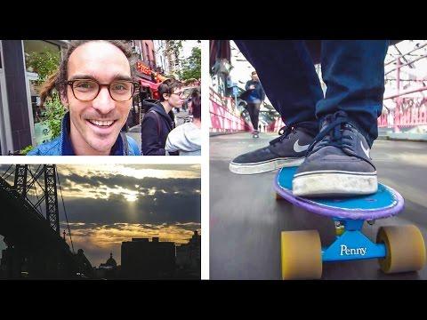 Sunrise & Pennyboard Adventures video