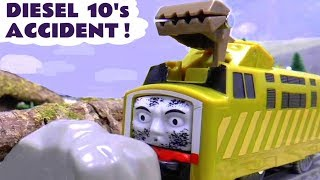 Thomas and Friends Diesel 10 has an accident
