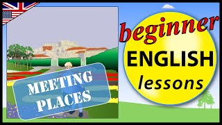 Meeting places in English, Beginner English Lessons for Children