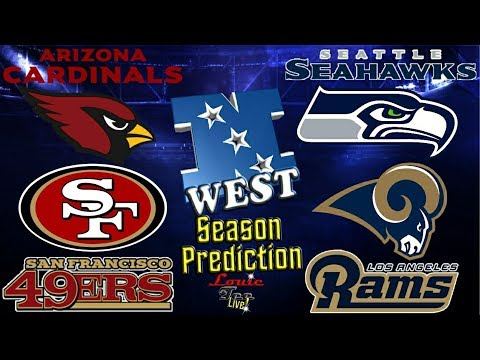 2017 NFL Season: NFC West Season Preview & Predictions #LouieTeeLive
